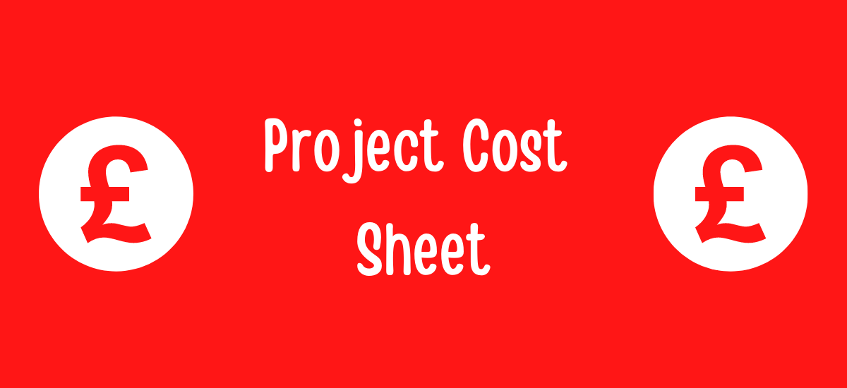 Project Cost Sheet